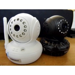 Night Vision WPA Internet wifi wireless IP camera