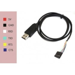 FTDI FT232RL USB to Serial adapter cable