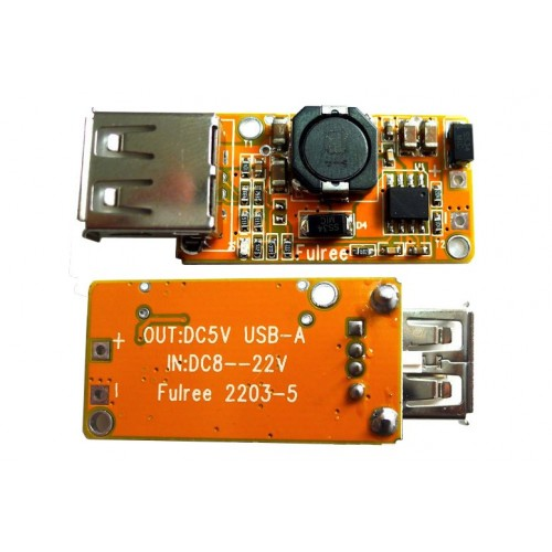 Step down USB charger module