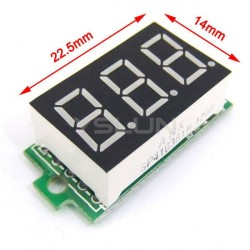 Mini digital volt meter 0-200V