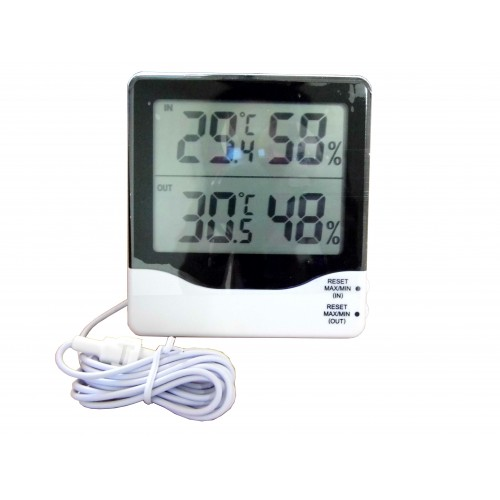 Digital Indoor and Outdoor Hygro-Thermometer