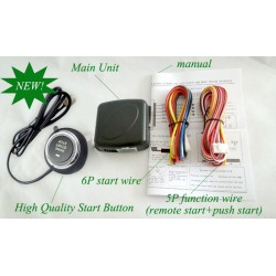 Universal Car Seperate Remote Start Module +Push button start