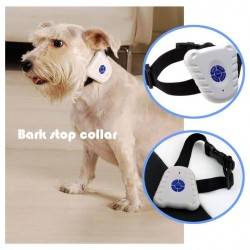 Ultrasonic Bark Stop Dog Training Collar