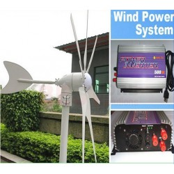 Wind Turbine On Grid tie System Kit 400W