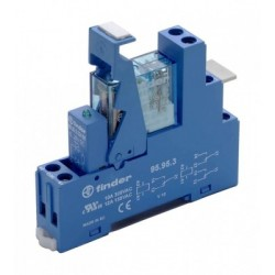 Finder Relay with Socket and Indicator
