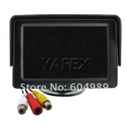 Dashboard Car Color Monitor 4.3 inch 2 VDO Channel