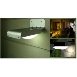 16LEDs Solar Wall Light with Motion Sensor Dection