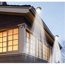 Gutter Solar LED Powered