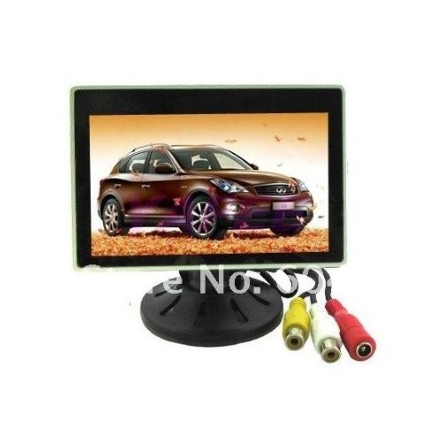 Car Color Monitor 4 inch 2 VDO Channel