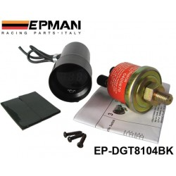 EPMAN 37mm MICRO DIGITAL SMOKED GAUGE UNIVERSAL 4-6-8 CYLINDER