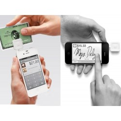 Magnetic Strips Card Reader for iPhone for iPad for Android Smart Phones