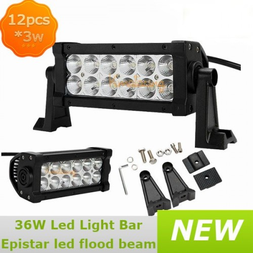 120W LED Light Bar 12000lm 24V/12V