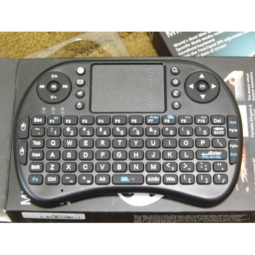 Portable 2.4G Rii Mini i8 Wireless Keyboard Mouse Combo
