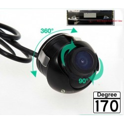 Universal Mini Wide Angle Waterproof CCD Car Camera
