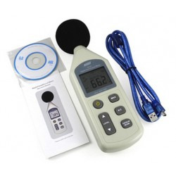 Digital Sound Level Meter Supported Computer USB Display