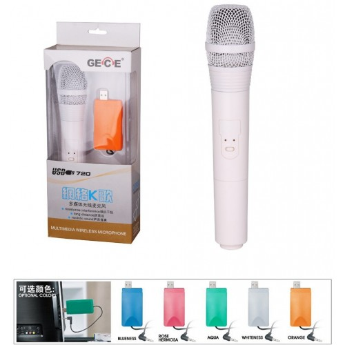 USB Wireless Microphone For Teaching Speaker Voice Amplifier or Computer