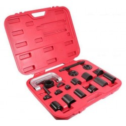 21PCS REMOVER INSTALLER HD TOOL KIT SERVICE 4WD CAR &TRUCK REPAIR BALLJOINT