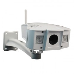 3X Optical Zoom 1 Megapixel P2P Outdoor IP Camera
