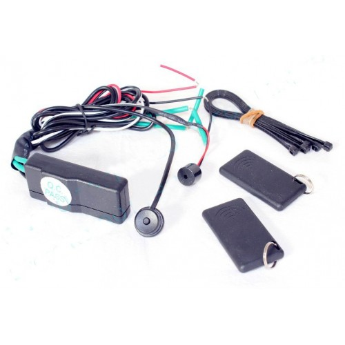Automatically RFID Lock and Unlock Car Engine