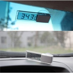 Transparent Suction Car Thermometer
