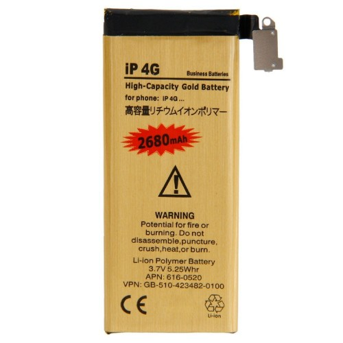 High Capacity 2680mah Replacement Battery for iPhone 4 4G