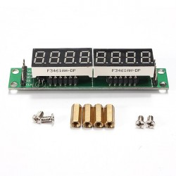 MAX7219 Red Module 8-Digit 7 Segment Digital LED Display