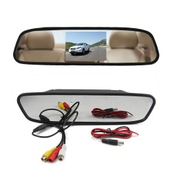 Car Rear View Mirror Monitor 4.3""