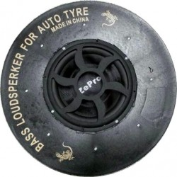 Car spare tire subwoofer speaker