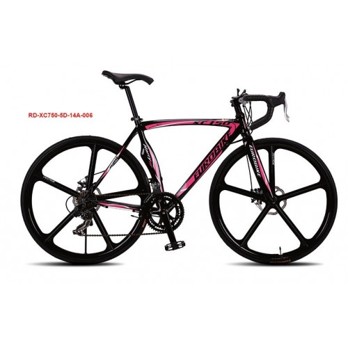Aluminum Alloy Road Bicycle 27 Speed Double Disc Brake