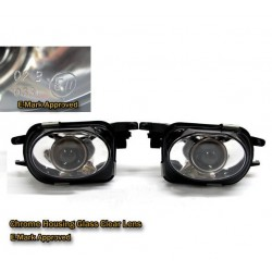 Mercedes Benz W203/C203 2004-2007 Standard Crystal Glass Projector Fog Light