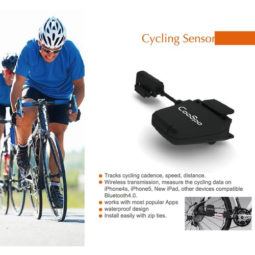Bicycle Blutooth Speed and Cadence Sensor for Smart Phone
