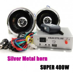 400W Car Siren Alarm 9 Siren sounds