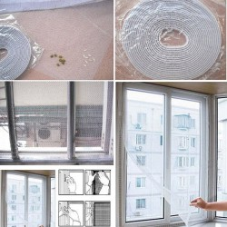 Insect Fly Mosquito Window Mesh Screen