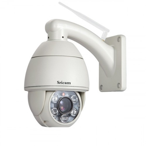 720P 5x Optical Zoom Pan Tilt H.264 ptz wifi ip network camera