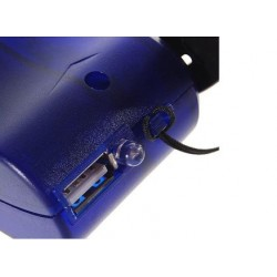 USB Hand Power Dynamo Torch Light  and Emergency Charger