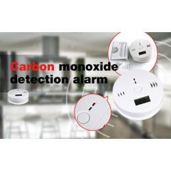 Home LCD Carbon monoxide CO detector with security