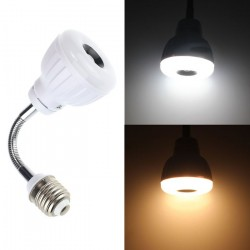 E27 5W LED PIR Infrared Sensor Lamp
