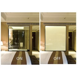 Electrical PDLC Window Film Sameple Size