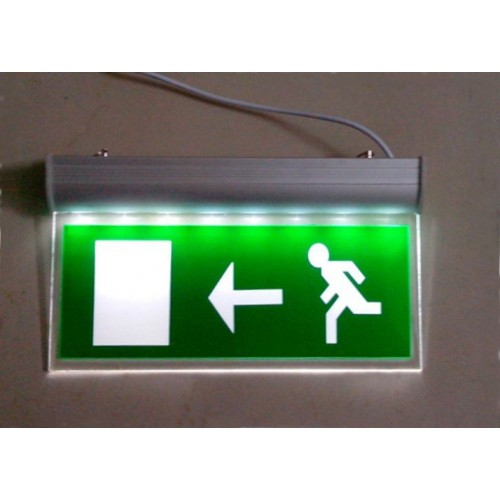 Emergency Light 3W Fire Exit Sign Board