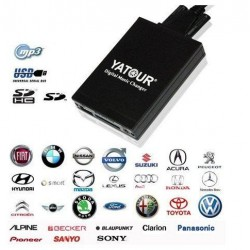 Digital Music Changer AUX SD USB MP3 Adapter