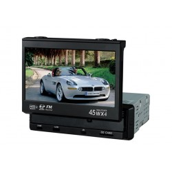 CAR DVD 7 Inches 1 Din with GPS and Bluetooth