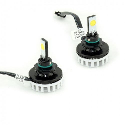 Car COB LED Headlight 64W 6400LM