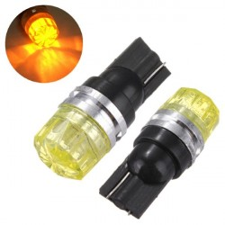 T10 W5W 194 168 Amber 5050 LED Turn Signal Light