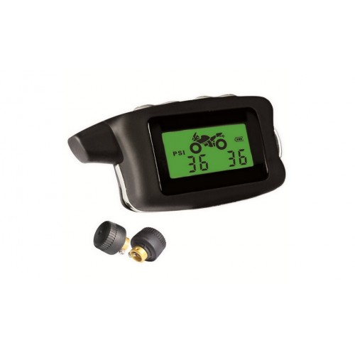 Motorcycle TPMS with 2 external sensors