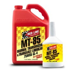 MT-85 (75W85 GL-4) Red Line Manual Transmission Fluids  1 quart