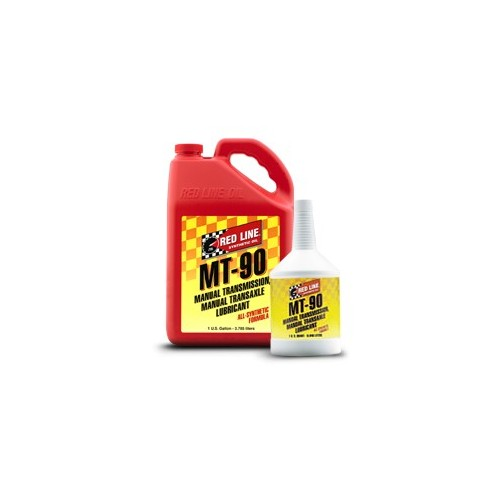MT-90 (75W90 GL-4) Red Line Manual Transmission Fluids  1 quart