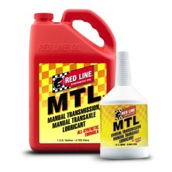 MTL (75W80 GL-4) Red Line Manual Transmission Fluids  1 quart