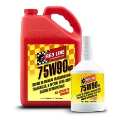 75W90 NS GL-5 Red Line Manual Transmission Fluids  1 quart