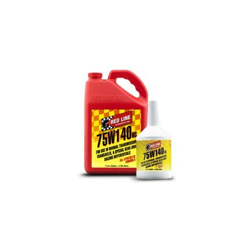 75W140 NS GL-5 Red Line Manual Transmission Fluids  1 quart