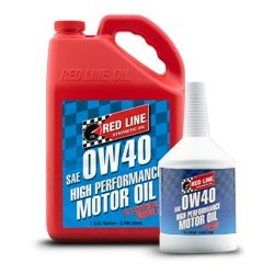Red Line SAE 0W40 Fully-synthetic Motor Oil